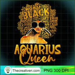 Black Women Afro Hair Art AQUARIUS Queen February 1 PNG, Afro Women PNG, Aquarius Queen PNG, Black Women PNG