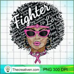 Breast CancerWomen Black Queen PNG, Afro Women PNG, Cancer Queen PNG, Black Women PNG
