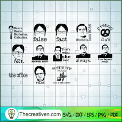 Bundle Of The Office TV Show SVG, The Office TV Show SVG, Funny Movie SVG