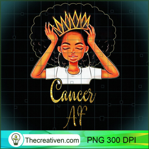 Cancer Queen AF Zodiac Floral Birthday T shirt Gifts copy