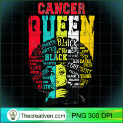 Cancer Queen PNG, Afro Women PNG, Cancer Queen PNG, Black Women PNG
