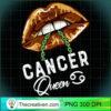 Cancer Queen Lips Sexy Black Afro Queen July June Womens Long Sleeve T Shirt copy
