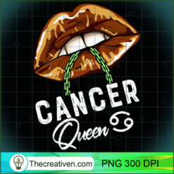 Cancer Queen Lips Sexy Black Afro Queen July June Womens PNG, Afro Women PNG, Cancer Queen PNG, Black Women PNG