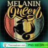 Capricorn Black Queen Melanin January Birthday Woman Girl T Shirt copy
