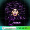 Capricorn Girl Womens Purple Queen Black Zodiac Birthday Pullover Hoodie copy