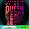 Capricorn Melanin Queen Strong Black Woman Zodiac Horoscope Long Sleeve T Shirt copy