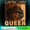 Capricorn Queen Afro Birthday Melanin Black African American T Shirt copy