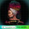 Capricorn Queen Afro Women January December Melanin Birthday Long Sleeve T Shirt copy