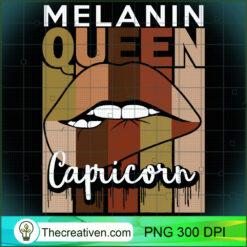 Capricorn Queen Zodiac Sign Melanin Retro Vintage PNG, Afro Women PNG, Capricorn Queen PNG, Black Women PNG