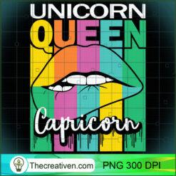 Capricorn Unicorn Queen Zodiac Sign Vintage PNG, Afro Women PNG, Capricorn Queen PNG, Black Women PNG