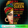 Capricorn queen I have 3 sides funny gift Capricorn birthday T Shirt copy