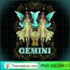 Gemini Fairy Zodiac Birthday Anime Fairies Black Queen Pullover Hoodie copy