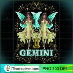 Gemini Fairy Zodiac Anime Fairies Black Queen PNG, Afro Women PNG, Gemini Queen PNG, Black Women PNG