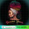 Gemini Queen Afro Women May June Zodiac Melanin Birthday Pullover Hoodie copy