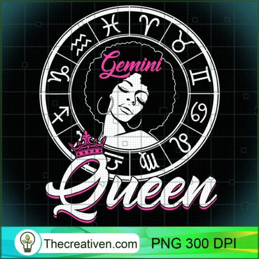 Gemini Queen Are Born in May 21 to June 21 Birthday T Shirt copy