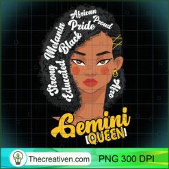 Gemini Queen Born in June Astrology PNG, Afro Women PNG, Gemini Queen PNG, Black Women PNG