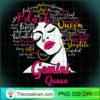 Gemini Queen Funny Birthday Gift for Black Women Girl T Shirt copy
