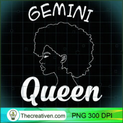 Gemini Queen Horoscope For Girls Women PNG, Afro Women PNG, Gemini Queen PNG, Black Women PNG
