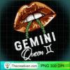 Gemini Queen Lips Sexy Black Afro Queen May June Womens Long Sleeve T Shirt copy