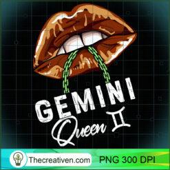 Gemini Queen Lips Sexy Black Afro Queen May June Womens PNG, Afro Women PNG, Gemini Queen PNG, Black Women PNG