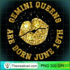Gemini Queen - June 10th - Gold Lips PNG, Afro Women PNG, Gemini Queen PNG, Black Women PNG