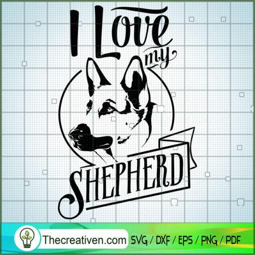 I love my german shepherd copy