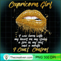Im A Capricorn Girl Funny PNG, Afro Women PNG, Capricorn Queen PNG, Black Women PNG