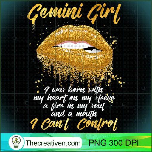 Im a Gemini Girl Shirt Funny Birthday T Shirt for Women 1 copy