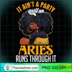 Im a Aries Girl Shirt Funny Women PNG, Afro Women PNG, Aries Queen PNG, Black Women PNG