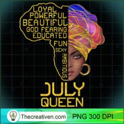 July Queen Cancer Leo Pride PNG, Afro Women PNG, Leo Queen PNG, Black Women PNG