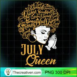 July Queen Prayer African Black Girl Cancer Leo Zodiac PNG, Afro Women PNG, Leo Queen PNG, Black Women PNG