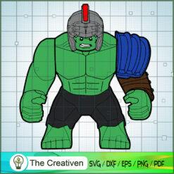 Big Hulk Lego SVG, Hulk SVG, The Avengers SVG, Marvel SVG