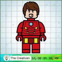 Tony Stark Lego SVG, Hulk SVG, The Avengers SVG, Marvel SVG