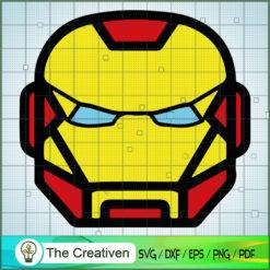 The Iron Man Head Lego SVG, Hulk SVG, The Avengers SVG, Marvel SVG