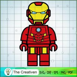 Iron Man Lego SVG, Hulk SVG, The Avengers SVG, Marvel SVG