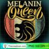 Leo Black Queen Melanin August Birthday Woman Girl Educated T Shirt copy