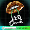 Leo Queen Lips Sexy Black Afro Queen July August Womens Long Sleeve T Shirt copy