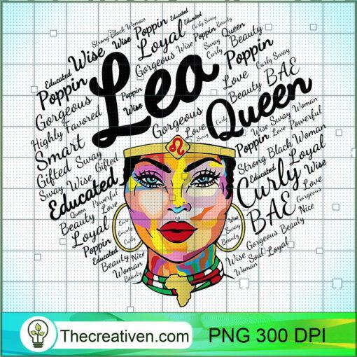 Leo Queen Shirt Birthday Gift Melanin Leo Black Girl T Shirt copy