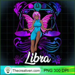 Libra Fairy Zodiac Anime Fairies Libra Black Queen PNG, Afro Women PNG, Libra Queen PNG, Black Women PNG