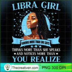 Libra Girl Black Queen September October PNG, Afro Women PNG, Libra Queen PNG, Black Women PNG
