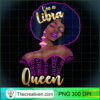 Libra Queen Astrology Sign Birthday T Shirt for Afro Black copy 1