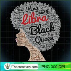 Libra Queen Zodiac Afro Black Women PNG, Afro Women PNG, Libra Queen PNG, Black Women PNG