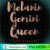 Melanin Gemini Queen Thats My Excuse Zodiac Skin Tones Long Sleeve T Shirt copy