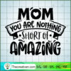 Mom you are nothing short of amazing copy