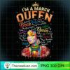 Pisces African Pride Black Queen March Birthday T Shirt copy