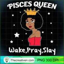 Pisces Black Queen Black Women Afro Zodiac PNG, Afro Women PNG, Pisces Queen PNG, Black Women PNG