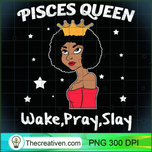 Pisces Black Queen Shirt Black Women Afro Zodiac Tshirt T Shirt copy