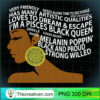 Pisces Black Queen Zodiac Birthday Gift T Shirt for Women copy