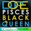 Pisces Black Queen Zodiac T Shirt for Black Women copy