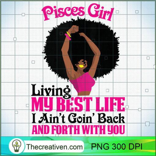 Pisces Girl Black Girl Afro Woman Zodiac Signs Horoscopes Tank Top copy